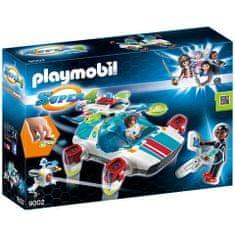Playmobil FulguriX z agentem Gene 9002