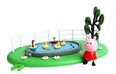 TM Toys Peppa Plac Zabaw z Figurką Staw z kaczkami 05329