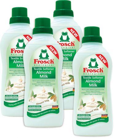 Frosch Eko hipoalergeni omekšivač s bademovim mlijekom, 4x750 ml