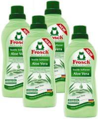 Frosch Eko hipoalergenski omekšivač Aloe Vera, 4 x 750 ml