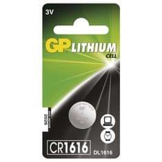 GP baterija Lithium CR1616 1BL 3V, 1 kos