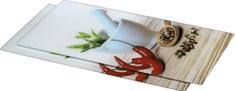 Hama Xavax Spice üveg vágódeszka 52x30cm, 2db