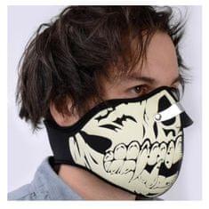 Oxford Obrazna maska Glow Skull