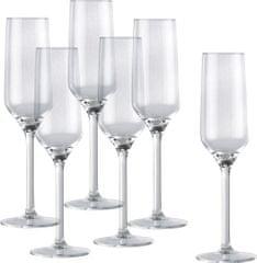 Alpina Poháre na šampanské 220 ml, 6 ks