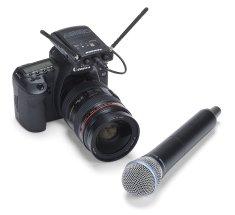 Samson Concert 88 Camera Handheld K Bezdrôtová reportážna súprava s mikrofónom
