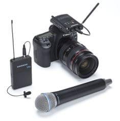 Samson Concert 88 Camera Combo K Bezdrôtová reportážna súprava s mikrofónom