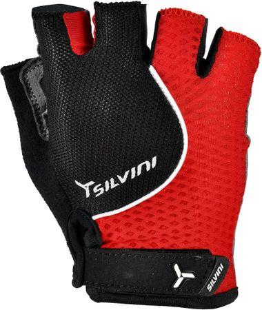 Silvini kolesarske rokavice Torre UA481M, črne/rdeče