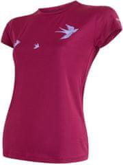 Sensor Coolmax Fresh PT Swallow dámske tričko kr.ruk. lilla