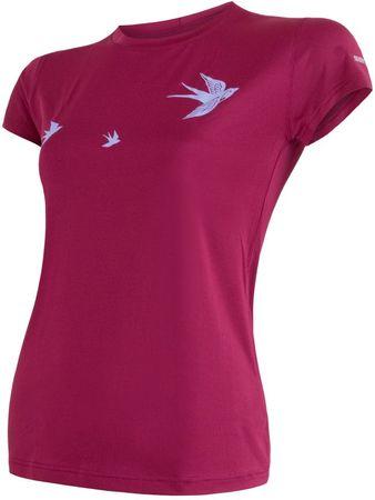 Sensor Coolmax Fresh PT Swallow rövid ujjú női póló lilla S