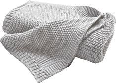 Biederlack Cosy Luxury odeja, siva