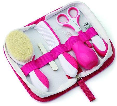 Nuvita kozmetični set za dojenčke, vijoličen