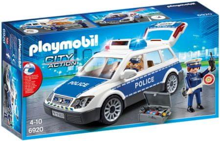 Playmobil 6920 Policijski auto sa svjetlima i zvukom