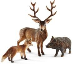 Schleich evropski gozdni prebivalci 41458