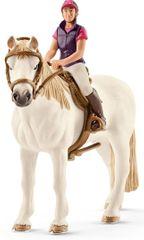 Schleich Rekreačná jazdkyňa na koni 42359