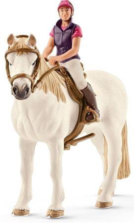 Schleich rekreativni jahač s konjem