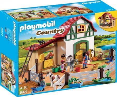 Playmobil Farma s ponijem (6927)