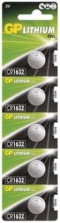 baterija CR1632, 5 komada