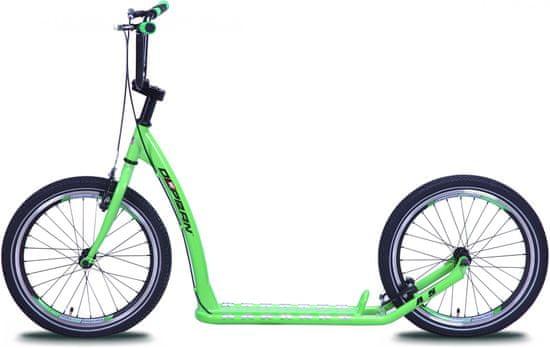 Olpran Koloběžka A5 Zelená