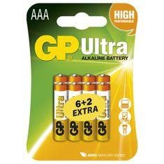 GP baterija Ultra LR03, 8 kosov