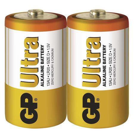 GP baterija Ultra LR20, 2 kosa