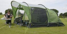 Kampa šotor Brean 4, zelen