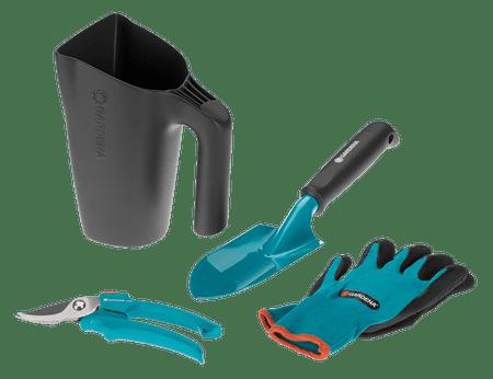 Gardena zestaw narzędzi ogrodniczych z konewką (8966-30)