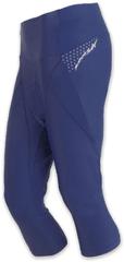 Sensor Damskie spodnie rowerowe z nogawkami 3/4 Cyklo Race Blue
