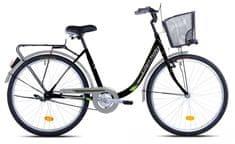 Capriolo gradski bicikl Picnic 26HT, crno-zeleni