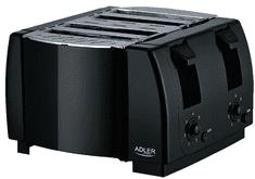 Adler dvostruki toster AD 3211, crni