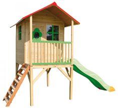 TRIGANO Domček drevený ARMELLEP na chodúľoch