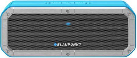 Blaupunkt prenosni Bluetooth zvočnik BT12OUTDOOR, srebrn/moder