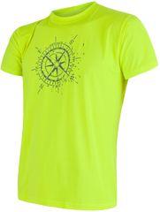 Sensor Coolmax Fresh PT Kompas pánske tričko kr.ruk., žltá reflex