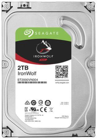 Seagate IronWolf - 2TB (ST2000VN004)