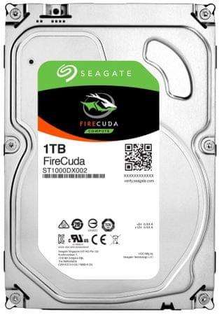 Seagate hibridni disk FireCuda 1 TB, 8,89 cm (3,5), SATA3, 7200, 64 MB
