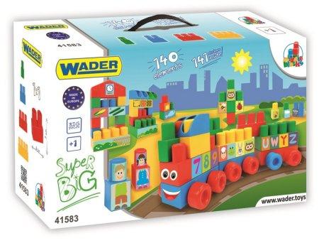 Wader Klocki Middle Blocks - zestaw SUPER BIG 41583