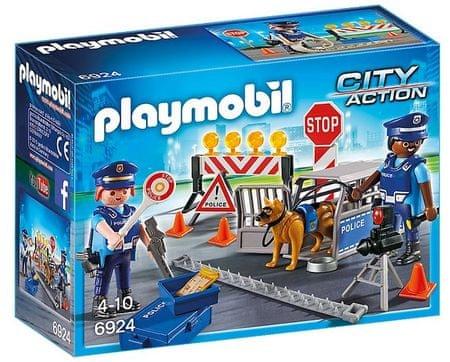 Playmobil 6924 Policijski blokada