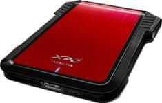 "A-Data EX500 externí box pro 2,5"" SATA disk, USB 3.0 (AEX500U3-CRD)"