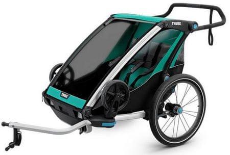 Thule sportska kolica Chariot Lite2, plavo zelena