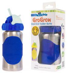 Pacific Baby GoGrow Nerezová ekoláhev s brčkem 300 ml