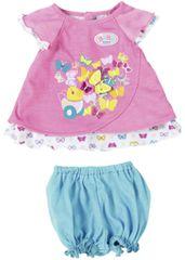 BABY born Różowa sukienka z motylkiem