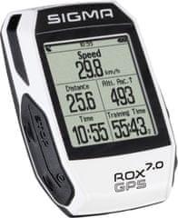 Sigma Licznik rowerowy Sigma ROX 7.0 GPS White