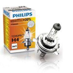 Philips halogena žarulja H4 Vision + 30%, 12 V