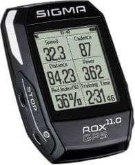 Sigma ROX 11.0 GPS Basic, Fekete