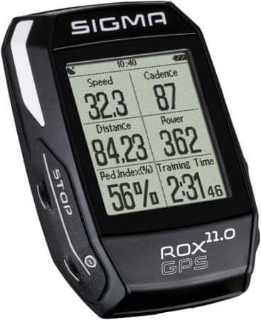 Sigma ROX 11.0 GPS szett, Fekete