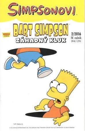 Groening Matt: Simpsonovi - Bart Simpson 2/2016 - Záhadný kluk