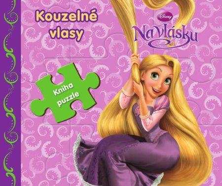 Disney Walt: Na vlásku Kouzelné vlasy - Kniha puzzle