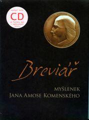 Komenský Jan Ámos: Breviář myšlenek Jana Amose Komenského + CD