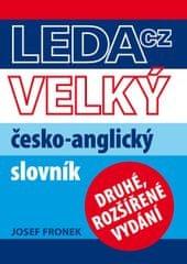 Fronek Josef: Velký česko-anglický slovník