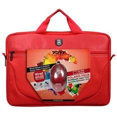 """Port Designs torba za prenosnik komplet Polaris 39,6 cm (15,6""""), rdeča"""