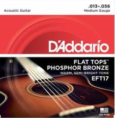 Daddario EFT17 Kovové struny na akustickú gitaru